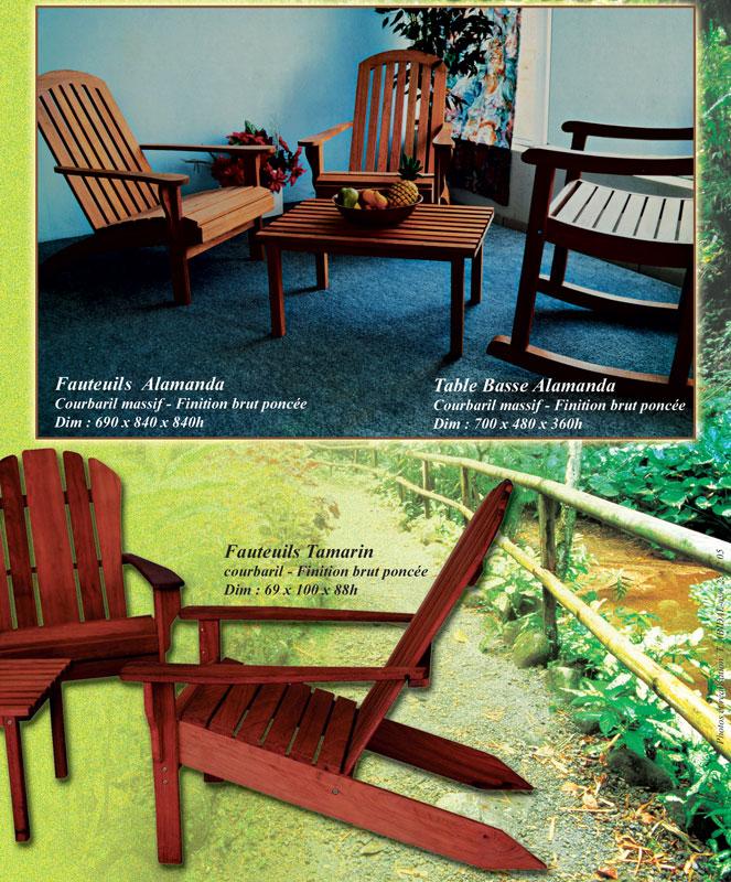 mobiliers de jardin sisal meuble martinique. Black Bedroom Furniture Sets. Home Design Ideas